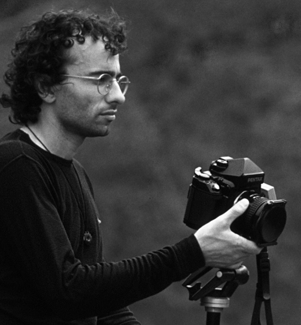 El fotògraf Valentí Zapater. Photographer Valenti Zapater