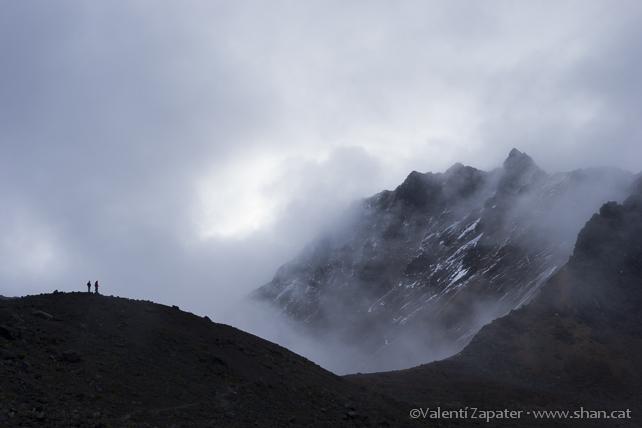 La Ensillada. Al fondo, Illiniza Norte. Reserva Ecológica los Ilinizas. El Chaupi (Cotopaxi, Ecuador)